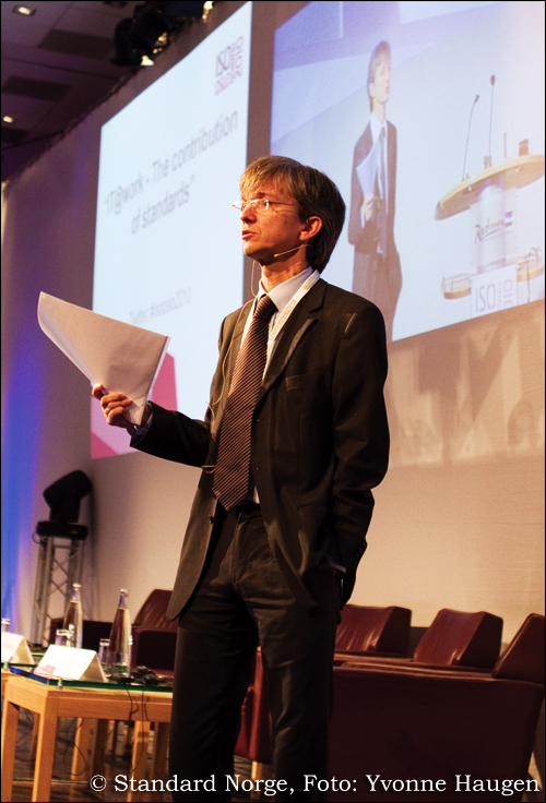 Paul Chaffey - speaker at ISO Conference