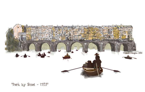 Paris  Bridge 1703