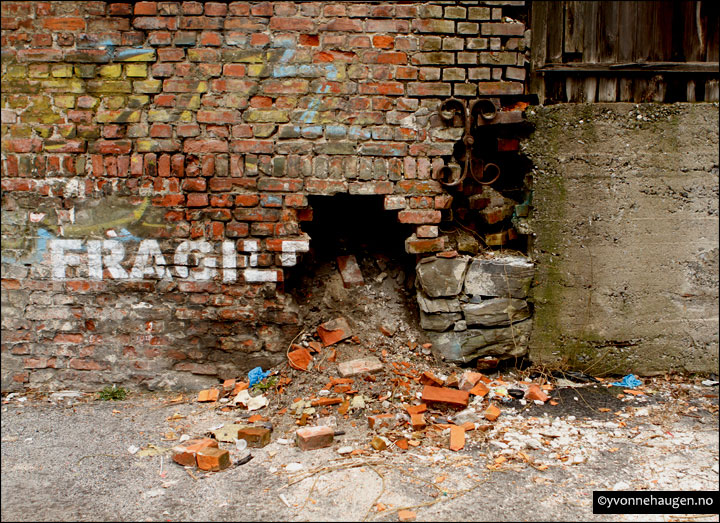 fragile graffiti