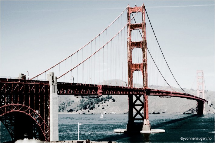 Golden Gate Bridge Vintage