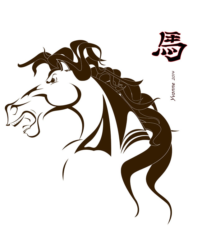 Chinese Vodiac - The Horse
